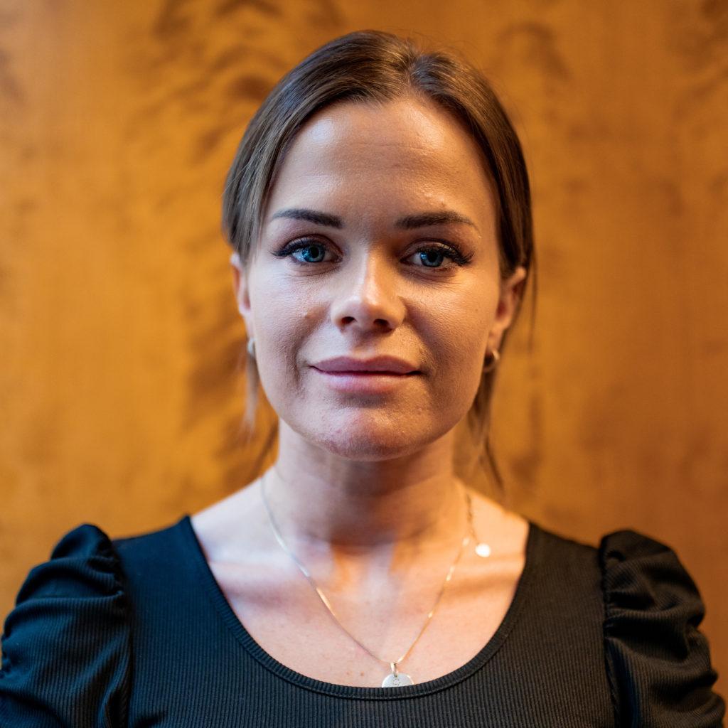 Martine, en av våre nye talenter