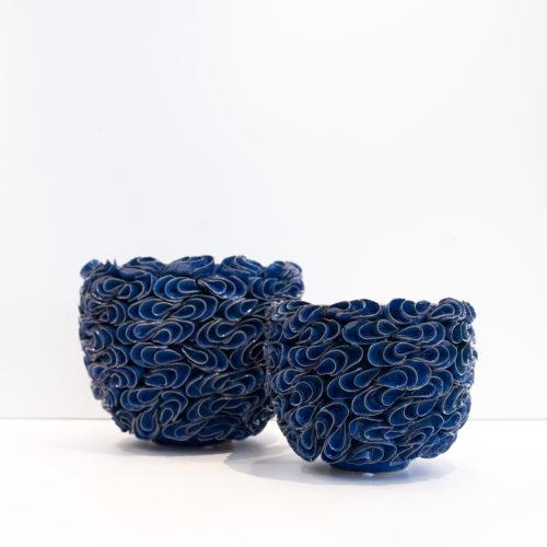 Blå potter
