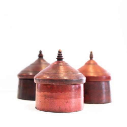 Røde tebokser