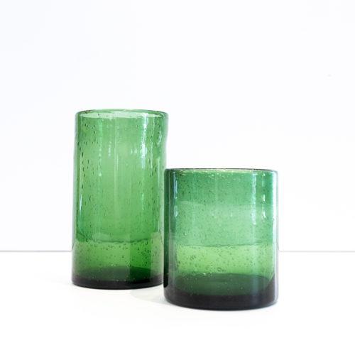 Grønne glasslykter