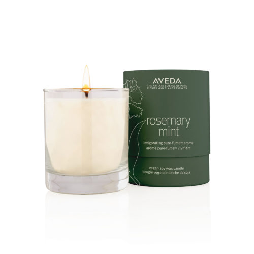 Aveda Rosemary mint soy wax candle